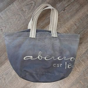 Abercrombie & Fitch Blue Ombre Tote Bag
